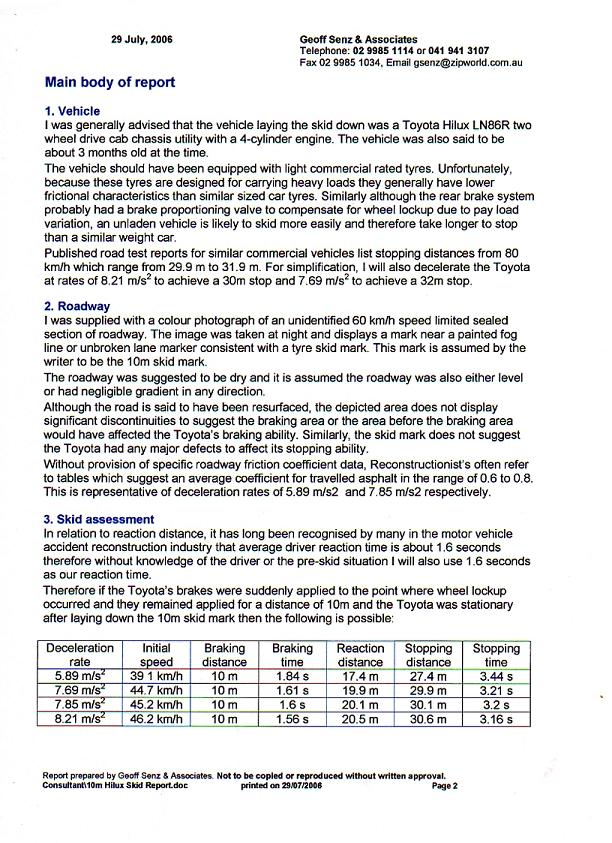 page 2 independent report